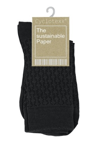 Sustainable environmentally friendly paper from Cyclotexx made of cotton fibers for hang tags and clothing tags